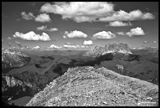 Forcella Ciadin alla Bepi Zac ( 2.700mt)